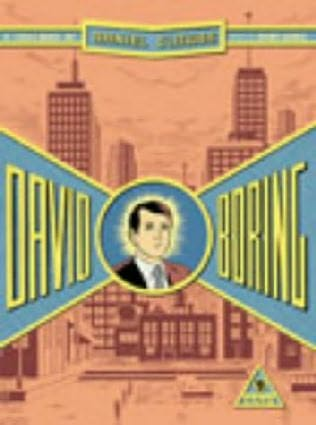 book cover of David Boring