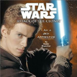 book cover of I Am a Jedi Apprentice