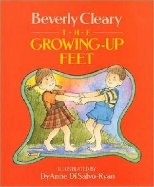 book cover of The Growing-Up Feet