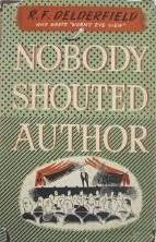 book cover of Nobody Shouted Author