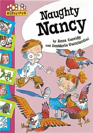 book cover of Naughty Nancy
