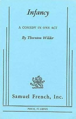 book cover of Infancy