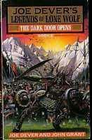 book cover of The Dark Door Opens