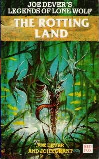 book cover of The Rotting Land