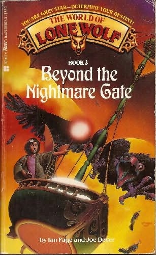book cover of Beyond the Nightmare Gate