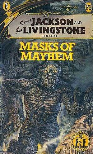 book cover of Masks of Mayhem