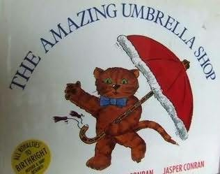 book cover of The Amazing Umbrella Shop