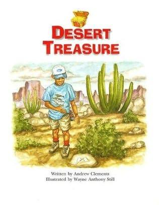 book cover of Desert Treasure