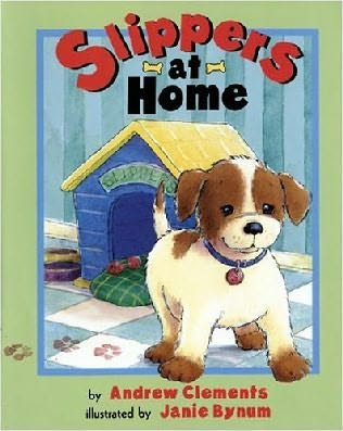 book cover of Slippers At Home
