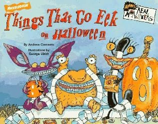 book cover of Things That Go Eek on Halloween