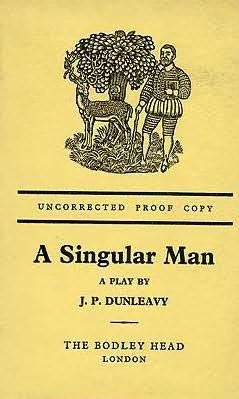 book cover of A Singular Man: A Play