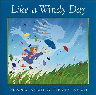 book cover of Like a Windy Day