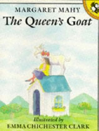 book cover of The Queen\'s Goat