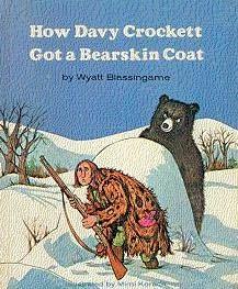 book cover of How Davy Crockett Got a Bearskin Coat