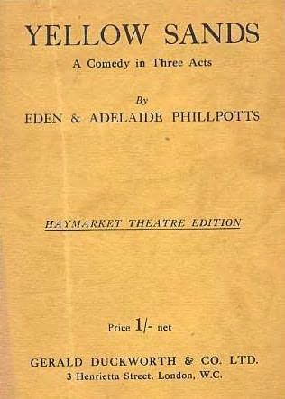 book cover of Yellow Sands