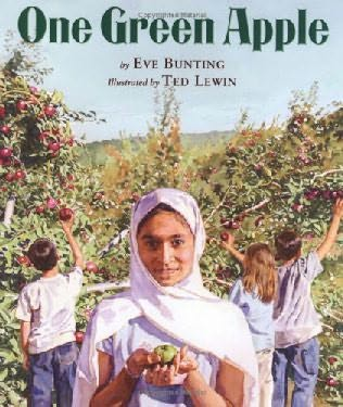 book cover of One Green Apple