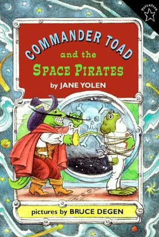 book cover of Commander Toad and the Space Pirates