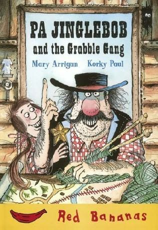 book cover of Pa Jinglebob and the Grabble Gang