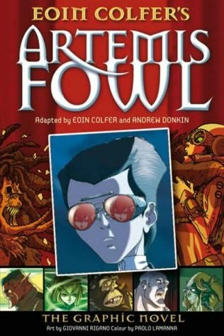 book cover of Artemis Fowl Graphic Novel (Artemis Fowl) by Eoin Colfer