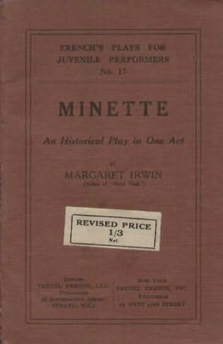 book cover of Minette