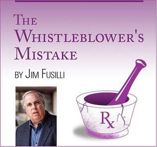 book cover of The Whistleblower\'s Mistake