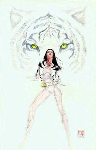 book cover of White Tiger: A Hero\'s Compulsion