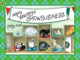 book cover of Hairy Maclary\'s Showbusiness