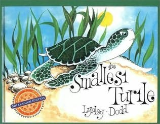 book cover of The Smallest Turtle