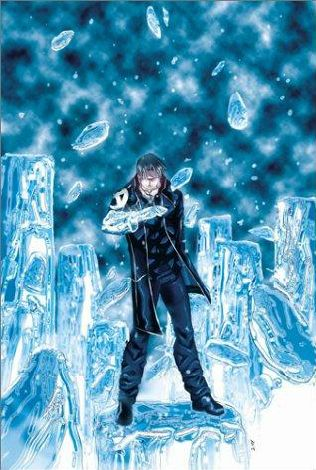 book cover of X Men Icons: Iceman