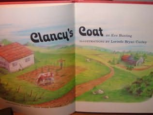 book cover of Clancy\'s Coat