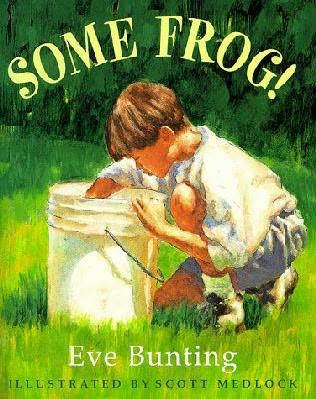 book cover of Some Frog!