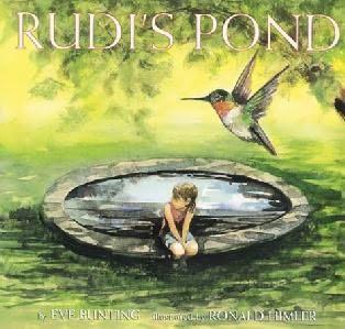 book cover of Rudi\'s Pond