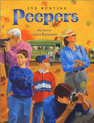 book cover of Peepers