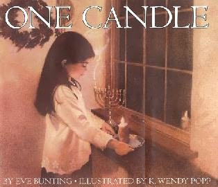 book cover of One Candle