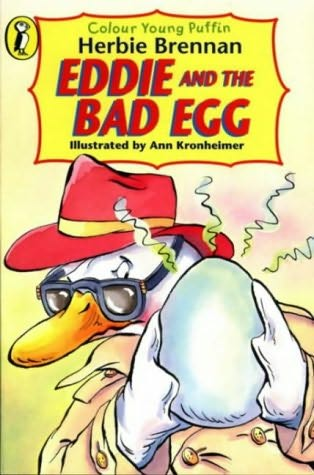 book cover of Eddie and the Bad Egg