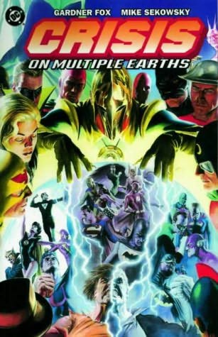 book cover of Crisis on Multiple Earths