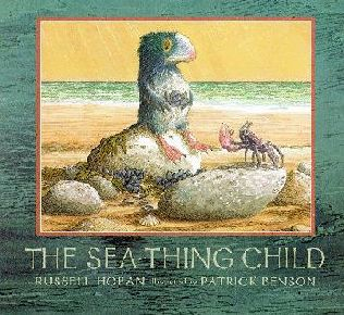 book cover of The Sea-thing Child