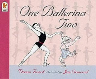 book cover of One Ballerina Two