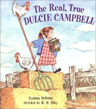 book cover of The Real, True Dulcie Campbell
