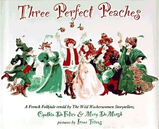 book cover of Three Perfect Peaches