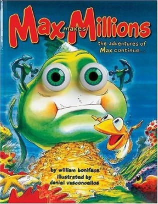 book cover of Max Makes Millions