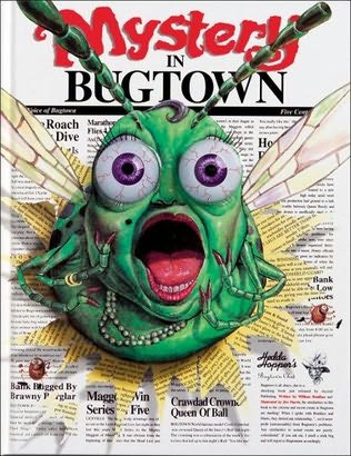 book cover of Mystery in Bugtown