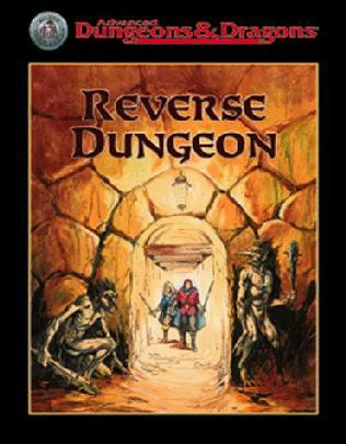 book cover of Reverse Dungeon