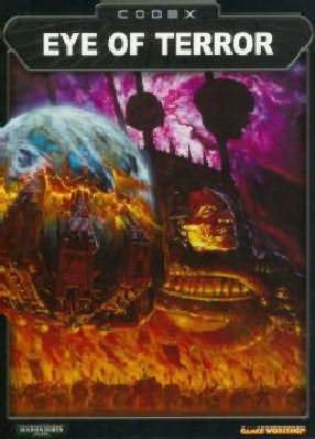 book cover of Codex Eye of Terror