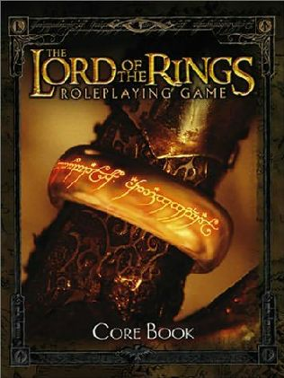 book cover of The Lord of the Rings RPG Core Book