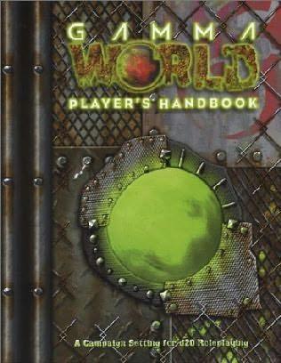 book cover of Gamma World Player\'s Handbook