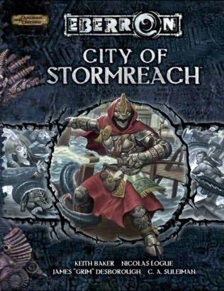 book cover of City of Stormreach