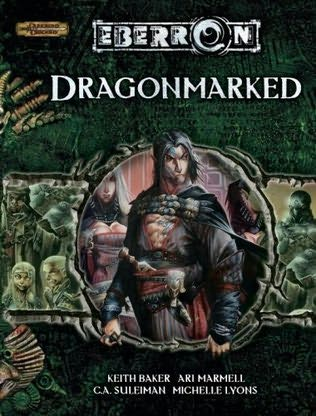 book cover of Dragonmarked