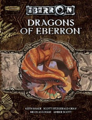 book cover of Dragons of Eberron
