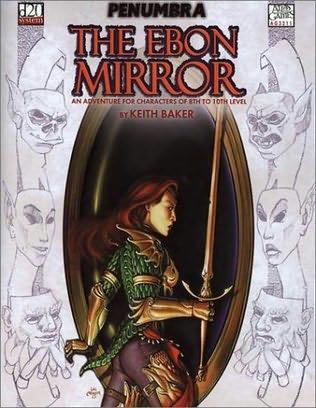 book cover of The Ebon Mirror